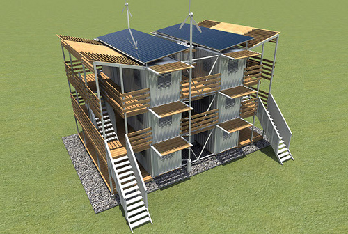 Disaster Relief Shipping Container Home City Concepts