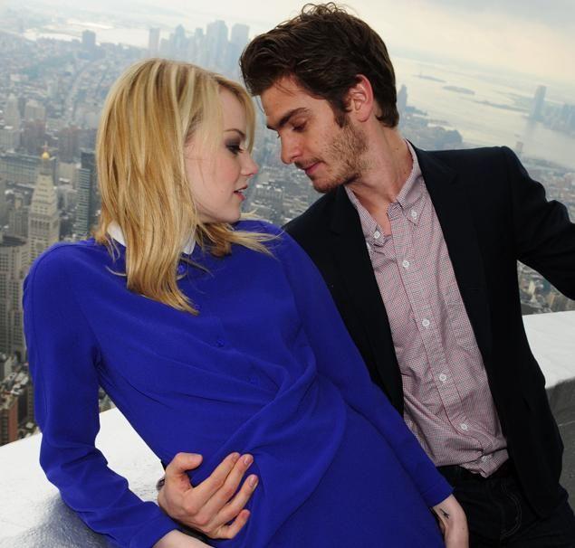 Emma Stone & Andrew Garfield.