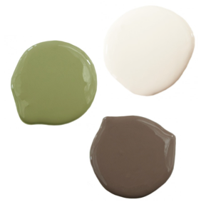 Green Brown And White Color Scheme