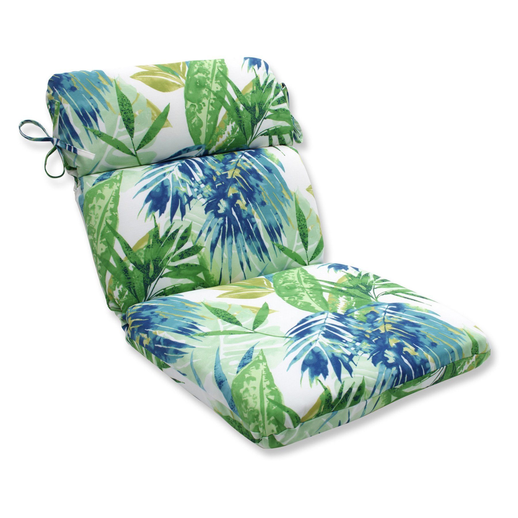 Pillow perfect soleil rounded corners chair cushion