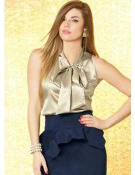 a2110d8d0 Blusa Social Feminina: Fotos, Modelos, Dicas, Como Usar | business ...