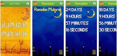 أفضل تطبيقات العد التنازلي لشهر رمضان ٢٠٢٠ Ramadan 2020 Countdown تطبيق العد التنازلي لرمضان 2020 أفضل تطبيق العد الت Ramadan Countdown Weather Screenshot
