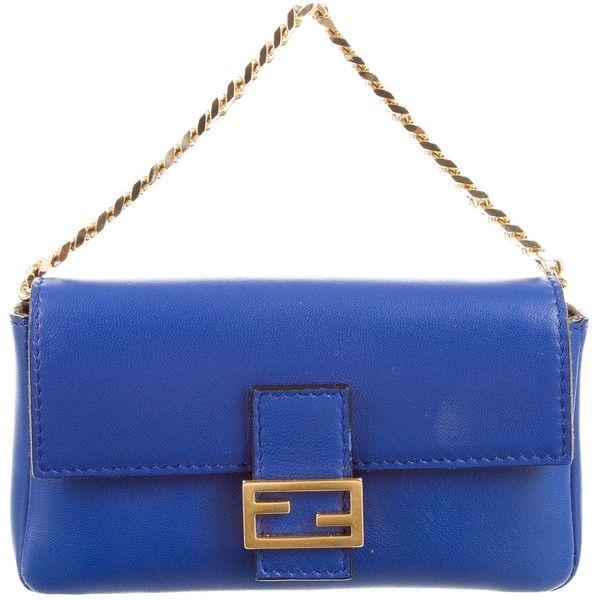 Pre-owned - Baguette leather bag Fendi 2A1wm99