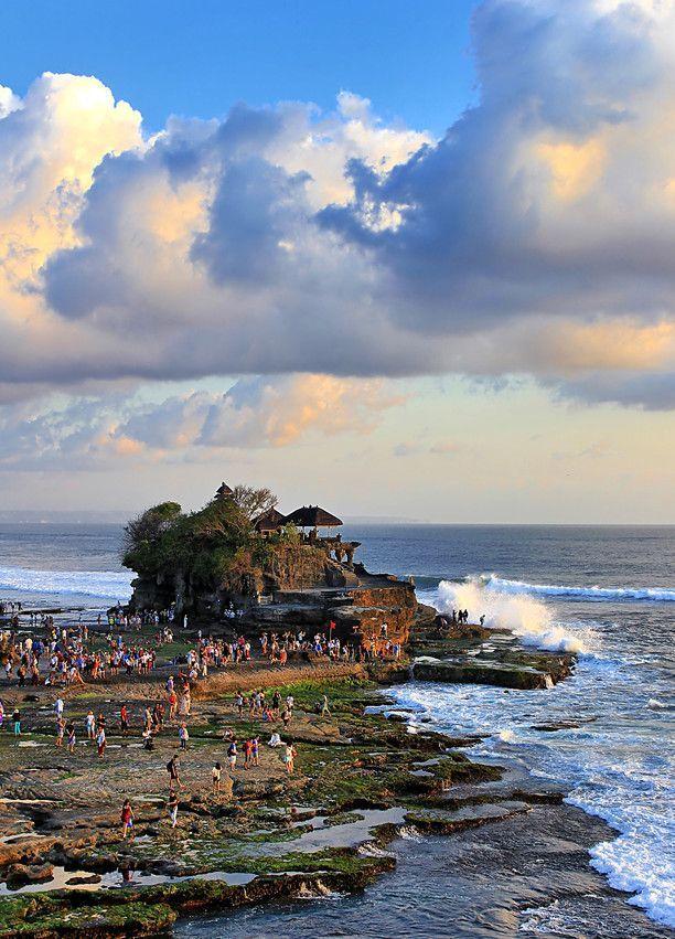 Tanah Lot Bali Indonesia Pemandangan Bali Indonesia Dan Bali
