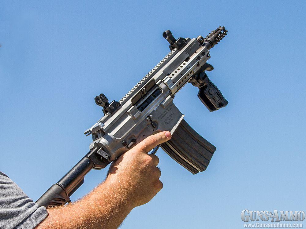 First Look: Gilboa Snake Double Barrel AR-15   Guns & Ammo #gunsammo