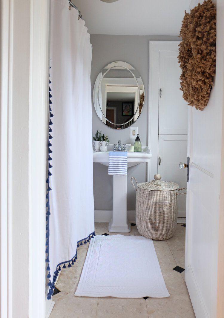 French Tassel Shower Curtain