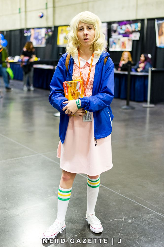 06b13f20938 Eleven from Stranger Things cosplay at SacAnime Winter 2017 ...