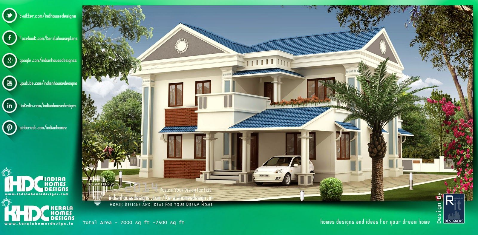 Beautiful and Top Architectural House Plans In India Designed By ...
