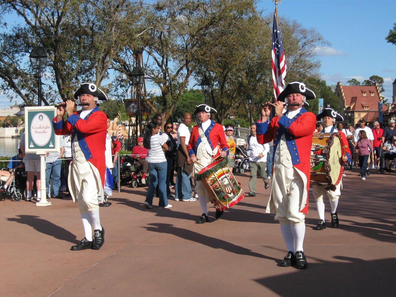 Parade @ Walt Disney World's Epcot - World Showcase - by Jamie Benny 2008