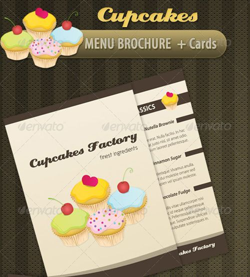 Sample Bakery Menu Template A Restaurant Menuposter Japanese