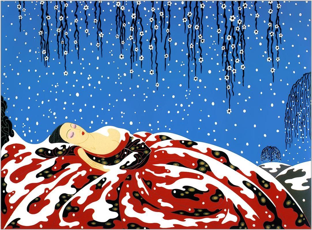 Erte - WikiArt.org Sleeping Beauty