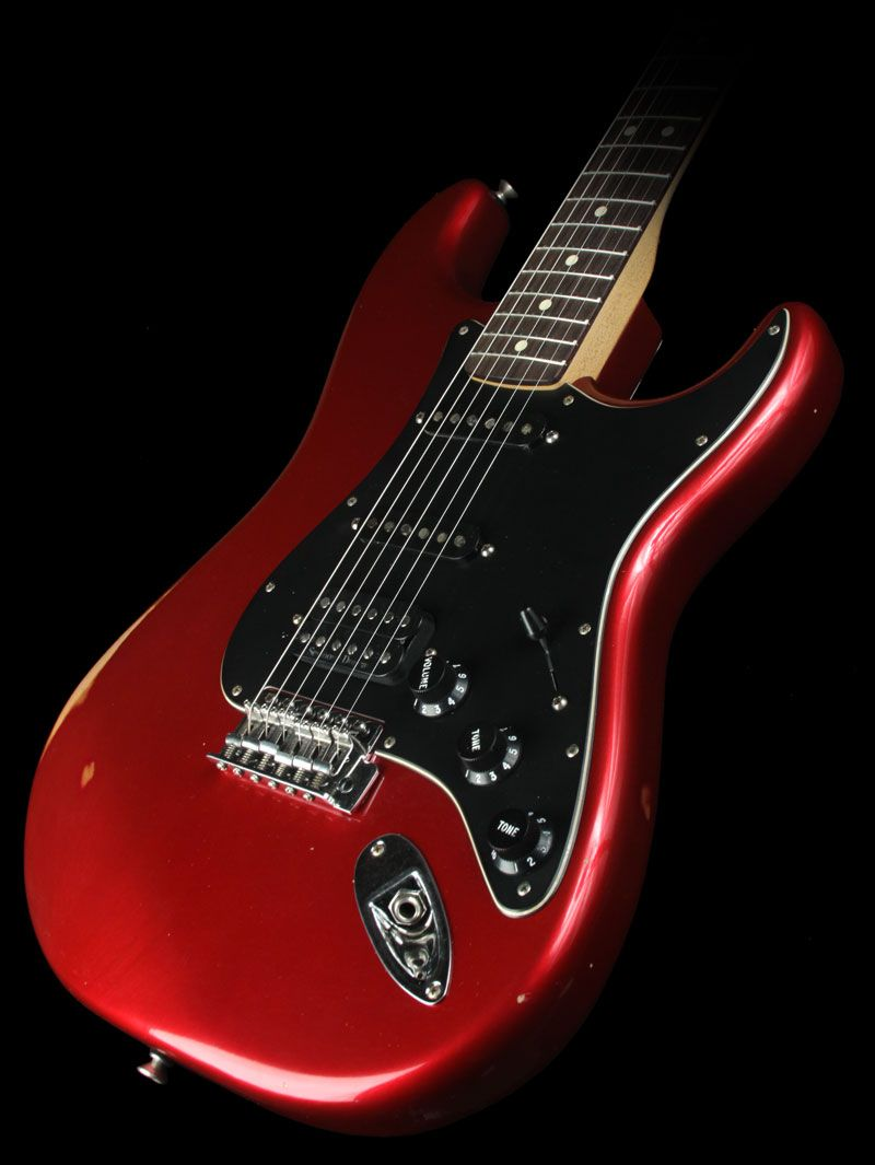 fender road worn player hss stratocaster electric guitar candy apple red inspired in 2019. Black Bedroom Furniture Sets. Home Design Ideas