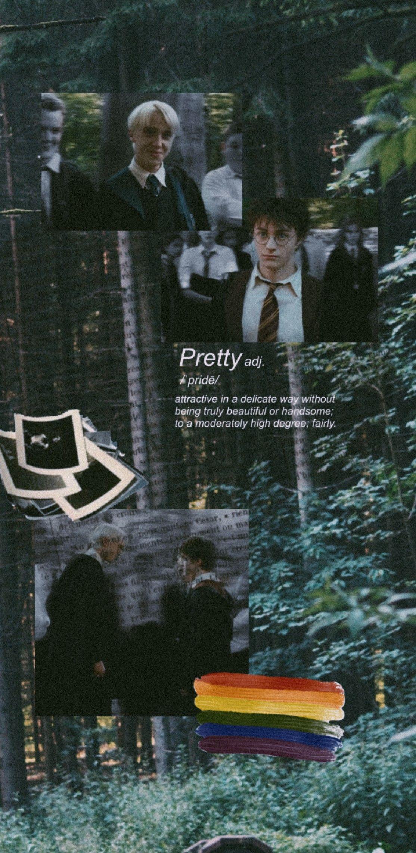 Drarry Wallpaper Em 2020 Wallpapers Bonitos Harry Potter Ideias Para Selfie