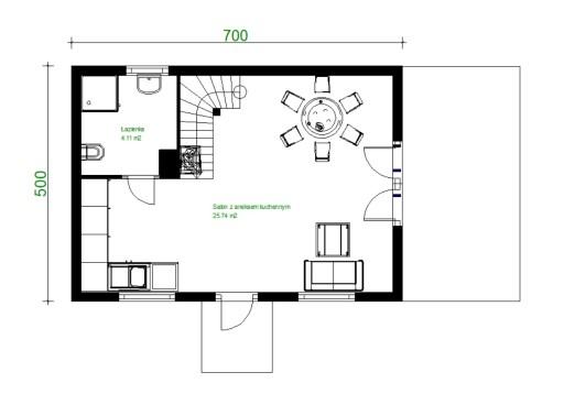 Projekt Domu Zg59 Na Zgloszenie Bez Pozwolenia 9094735497 Allegro Pl Floor Plans House Tiny House