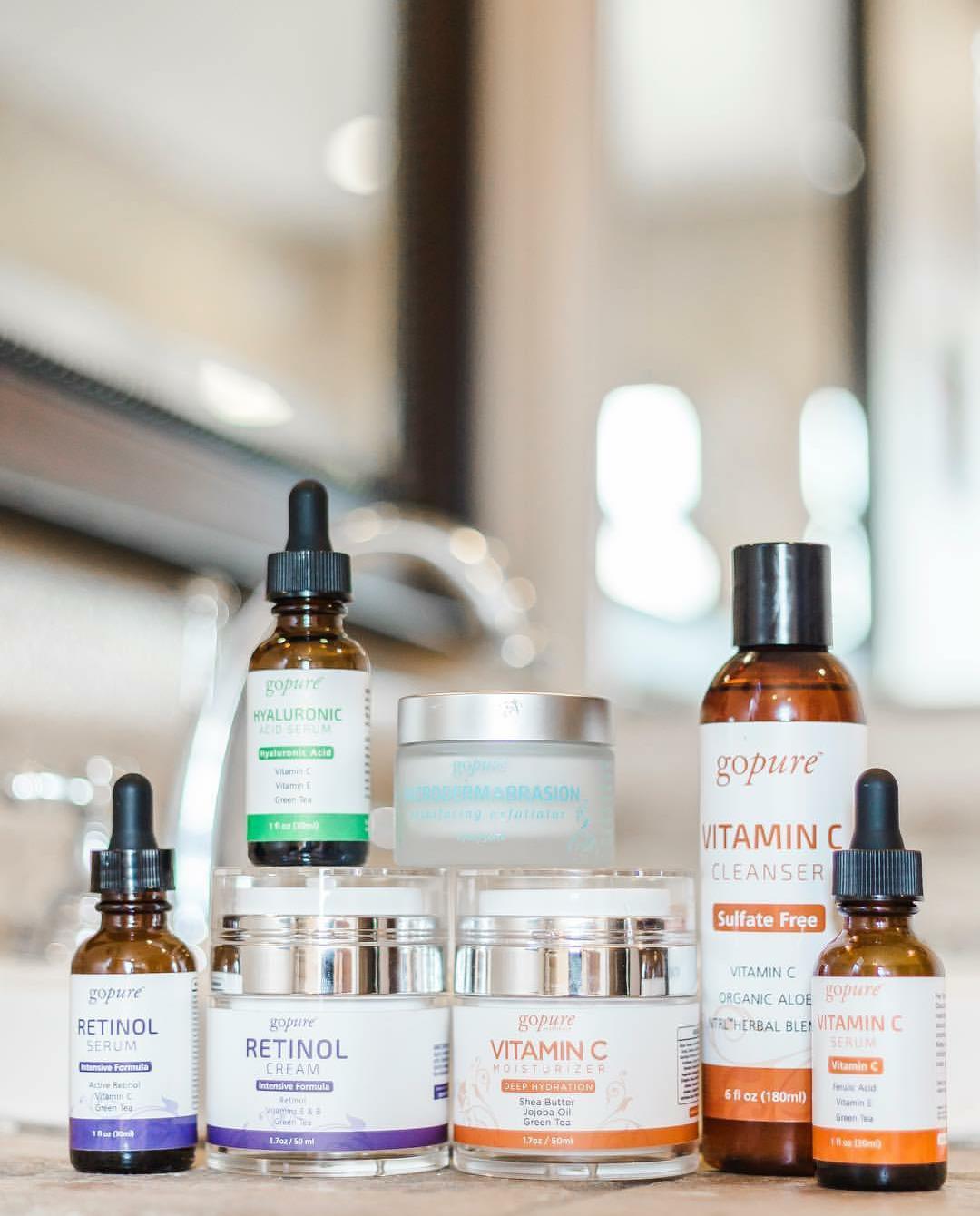 Gopure Complete Premium Skin Care System Every Step Covered 10 Items Skin Care System Skin Care Tips Skin Care