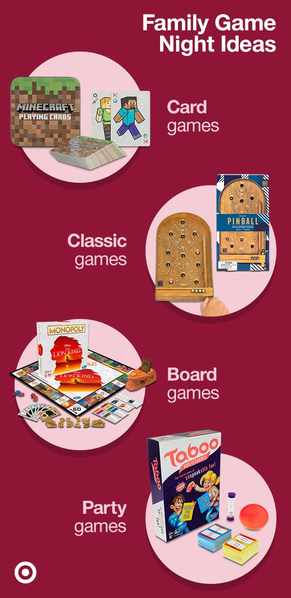 Make family nights fun with board games, party games & more ideas for Thanksgiving & Christmas gatherings.