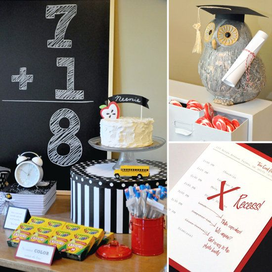 Back to School Party Inspiration | back to school | Pinterest ...