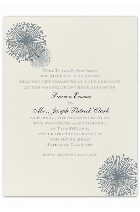divorced parents wedding invitation. this wording is appropriate when the divorced parents of bride are inviting guests. how to word wedding invitationsformal invitation n