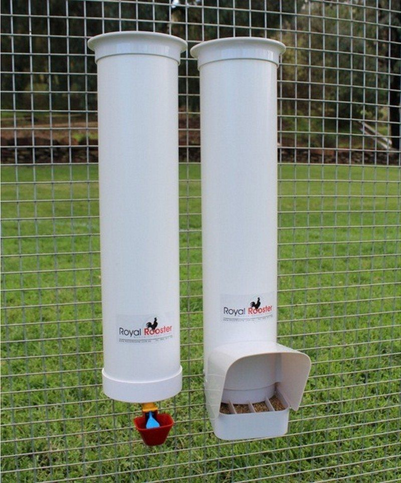 How to build an inexpensive chicken feeder from PVC | Pvc chicken feeder, Chicken feeders ...