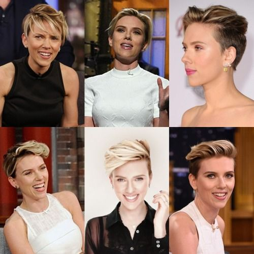 Scarlett Johansson Short Hair Tumblr Cabello Pinterest - Hairstyles for short hair on tumblr