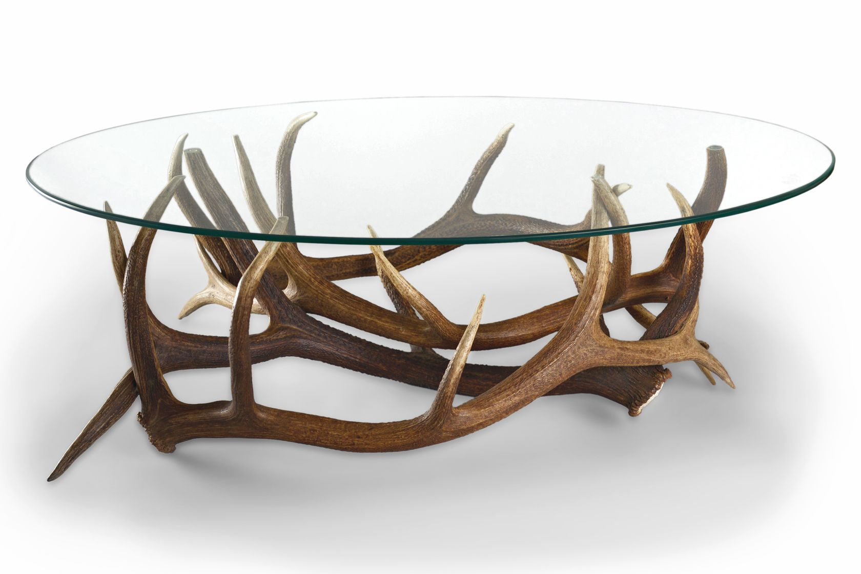 Available Floor Sample Antler Coffee Table Coffee Table