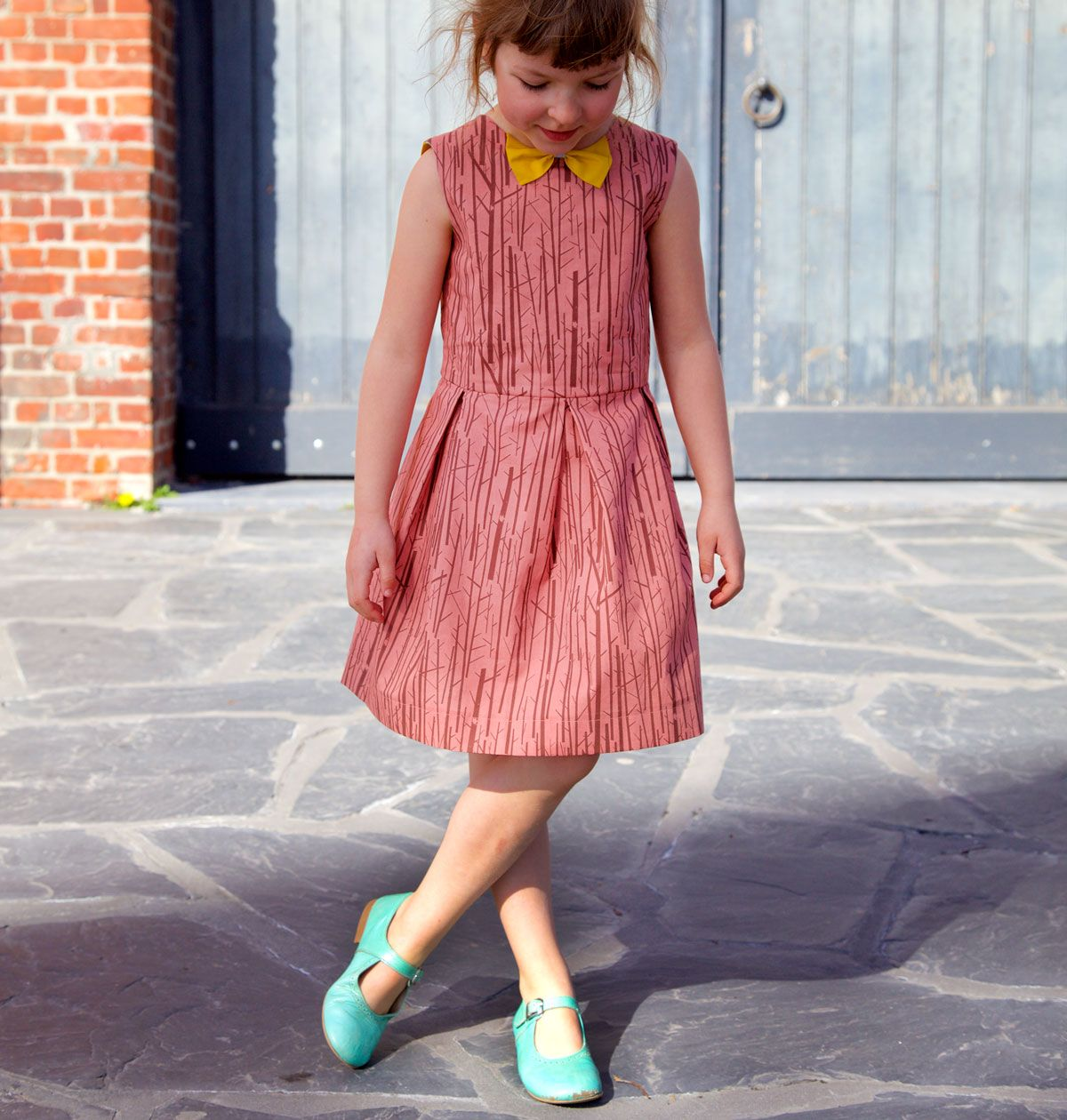 The Judith Dress (kids) pdf sewing pattern | Kinder kleider ...