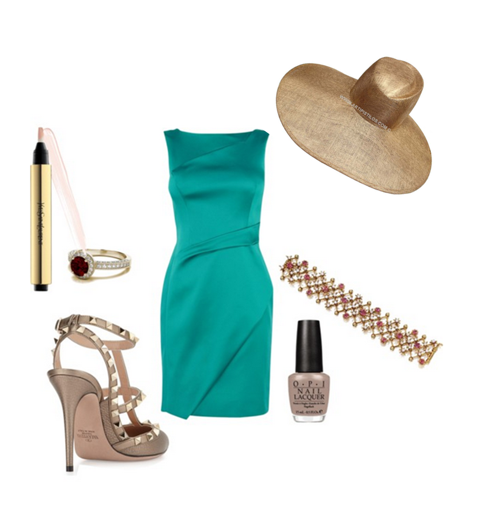 Look elegante boda #millinery #pamela #boda | Moda | Pinterest | Verano