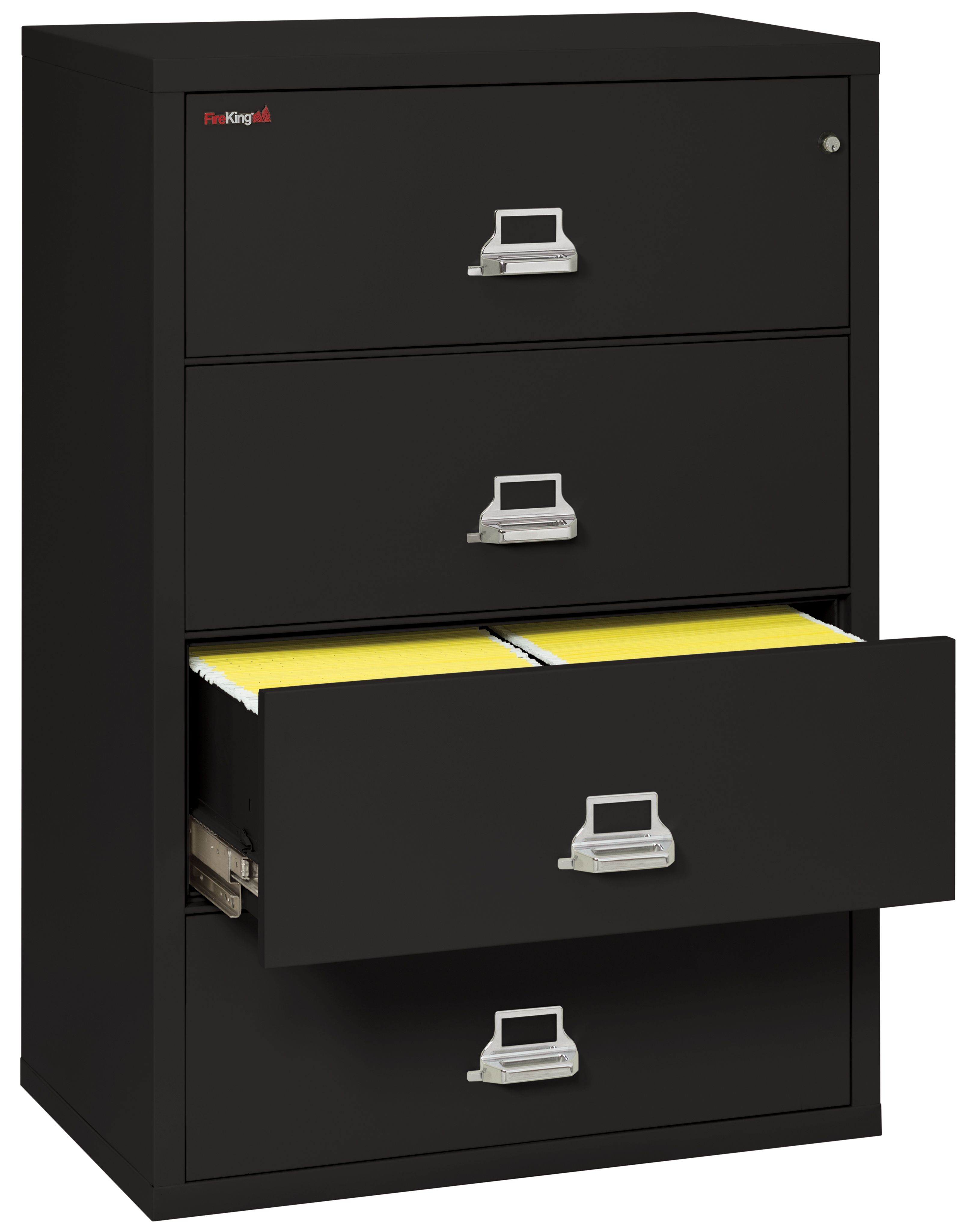 Perfect Fireproof Lateral File Cabinet 4 Drawers
