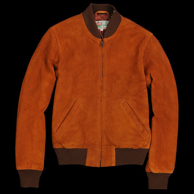 UNIONMADE - Levi's Vintage Clothing - 1960s Suede Bomber Jacket in ...