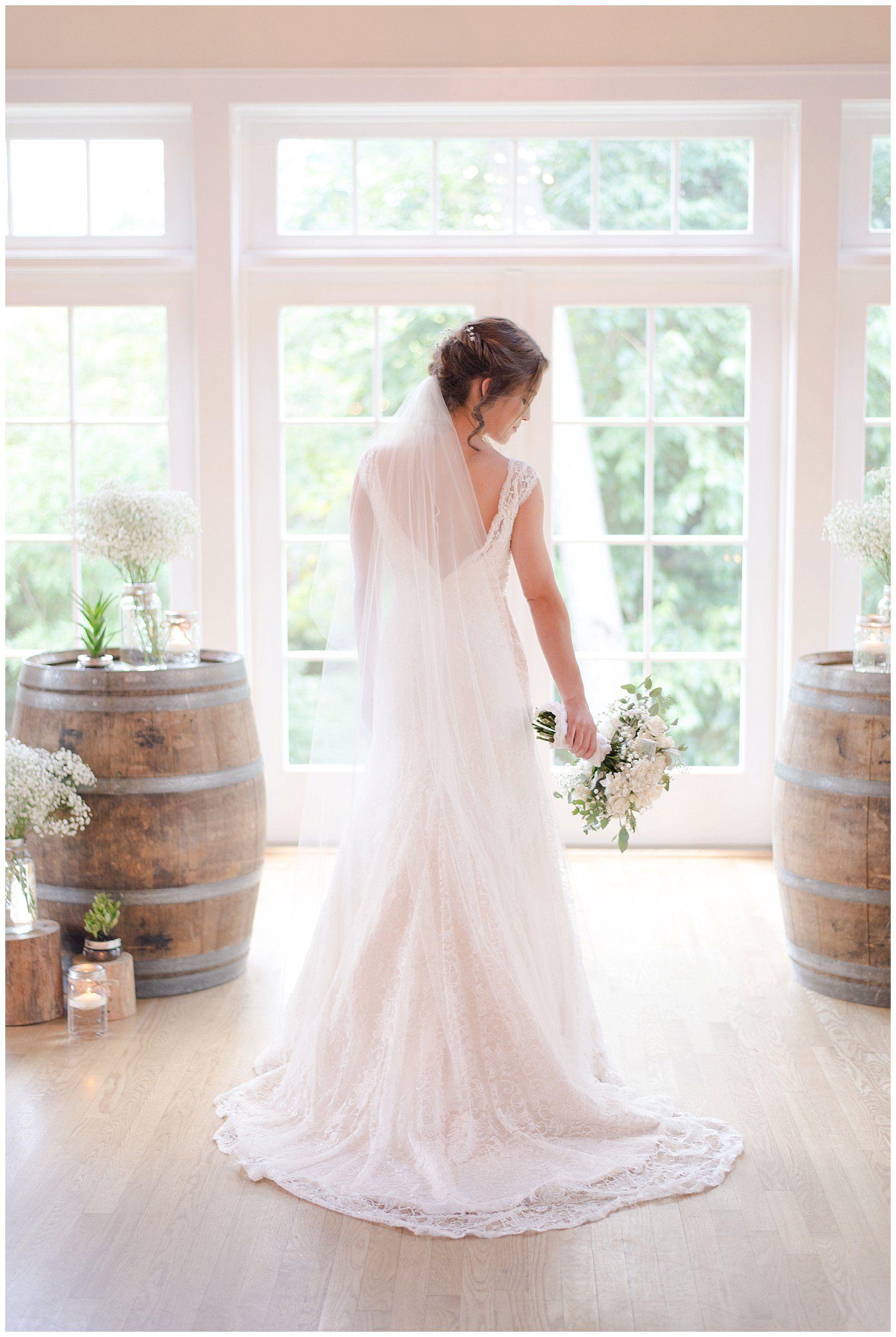 Beautiful Bright Bridal Portrait | Beautiful and Airy Cream Wedding ...