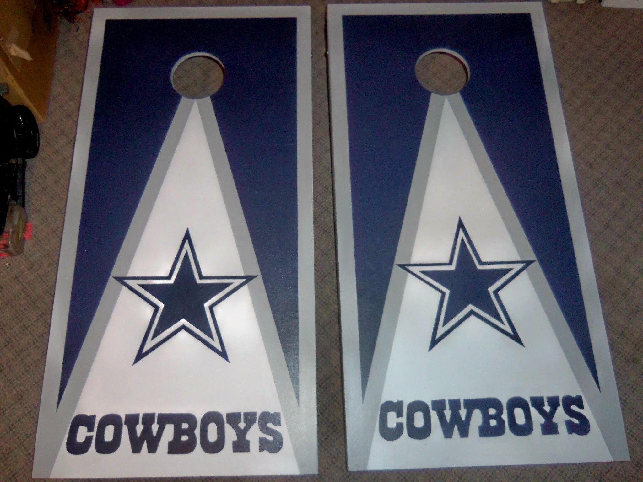 Dallas Cowboys Hand Painted