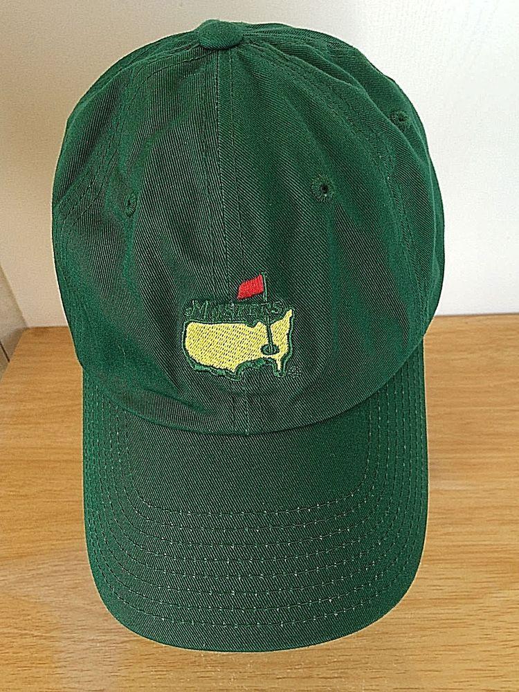 c23c43055b0 The Masters Baseball Cap Green Augusta Embroidered American Needle  Adjustable  AmericanNeedle  BaseballCap