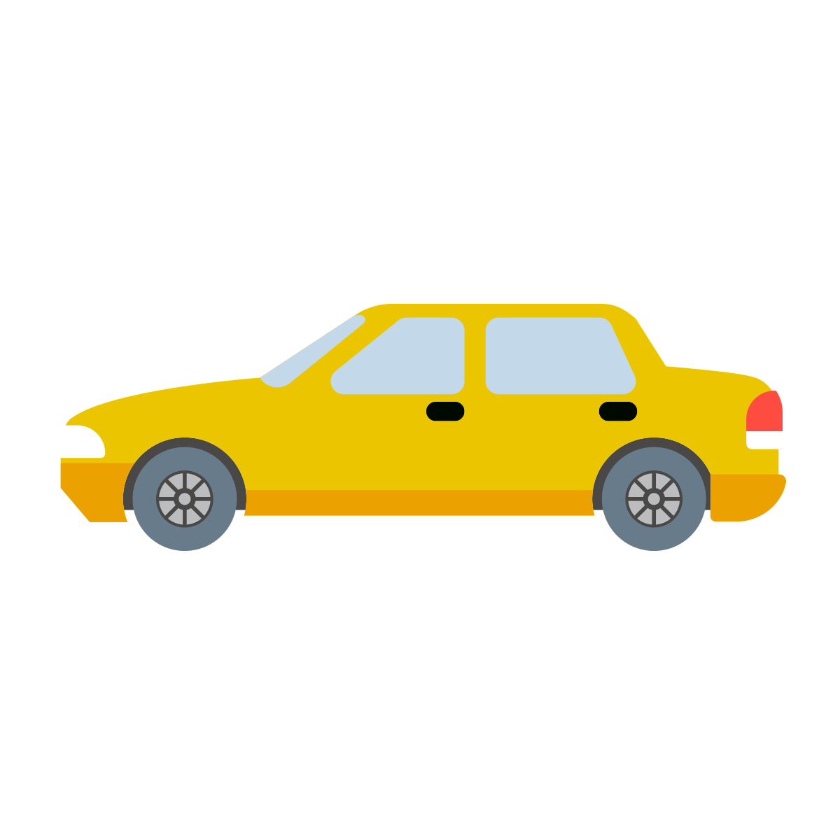 Free Download High Quality Cartoon Car Png Yellow Color Transparent Background Image It Is Good Quality Yellow Cartoon Car Pn Car Cartoon Background Images Car