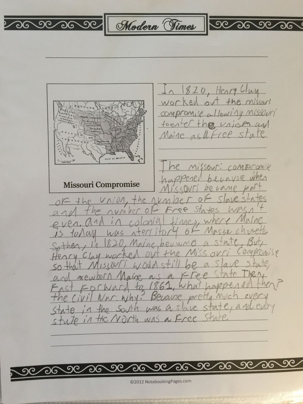 Photo of History Notebook Part 2: CC Cycle 3 Weeks 13-24 — Homegrown Learners