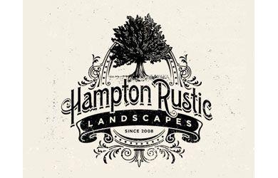 Hampton Rustic Logo | Logo design trends, Vintage logo ...