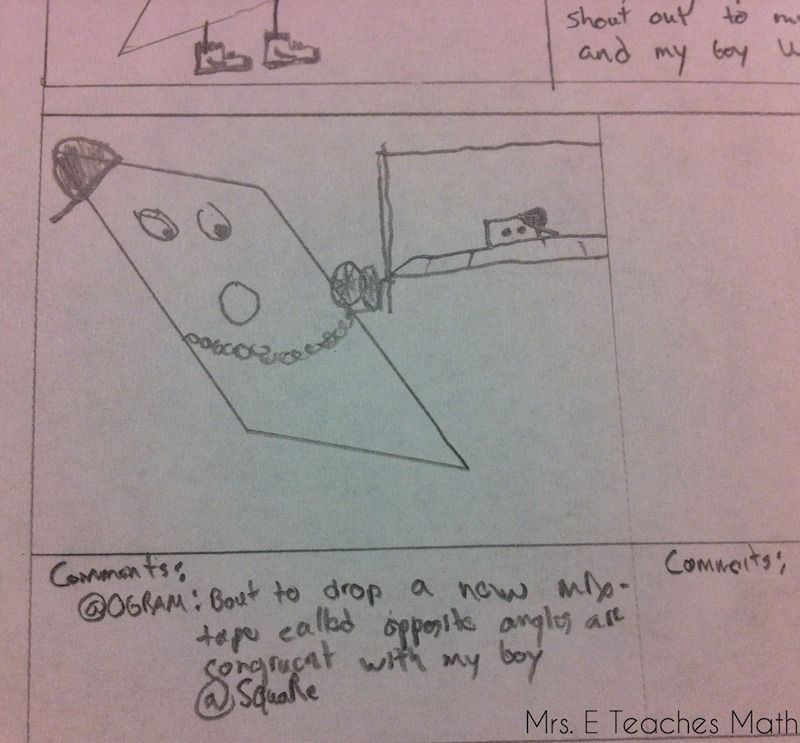 Awesome Quadrilateral Project   4th grade math   Teaching