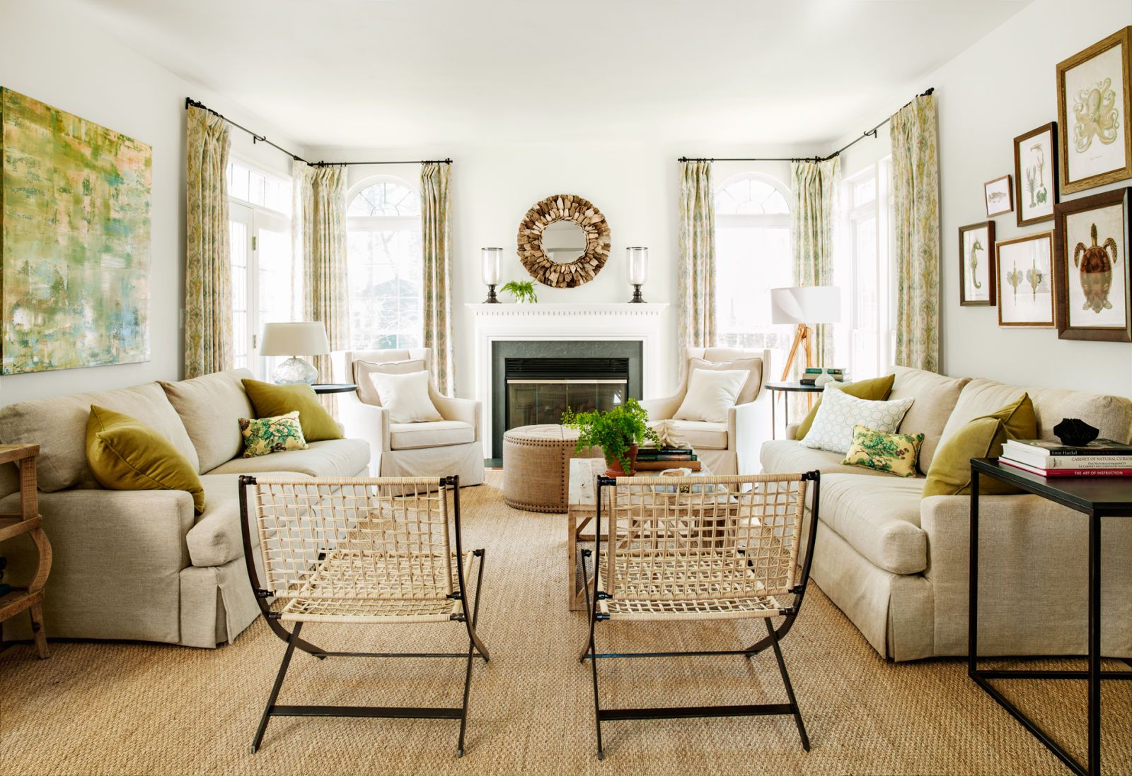 amusing plain white living room | 12 Ways to Warm Up a Plain White Room | White rooms, Rugs ...