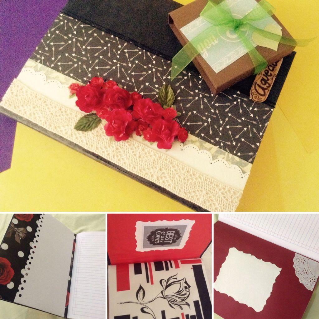 Utiliza flores para personalizar tus libretas y darles un estilo más elegante.  Una libreta también define a una persona, y resalta el estilo que está tiene ✌🏼️