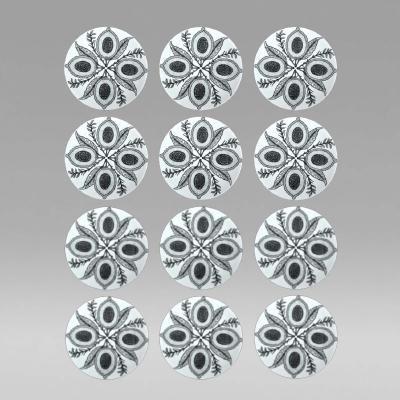 Set of Twelve Piero Fornasetti Plates in Four Frutti Pattern, 1 in Series by Piero  Fornasetti
