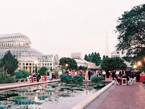 NY Botanical Garden   Ceremony · Brooklyn Botanical GardenBotanical Gardens  WeddingWedding ...