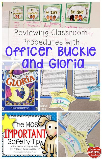 Reviewing Procedures with Officer Buckle and Gloria