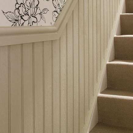 Mdf Tongue Stair Paneling Wooden Panelling Timber Walls