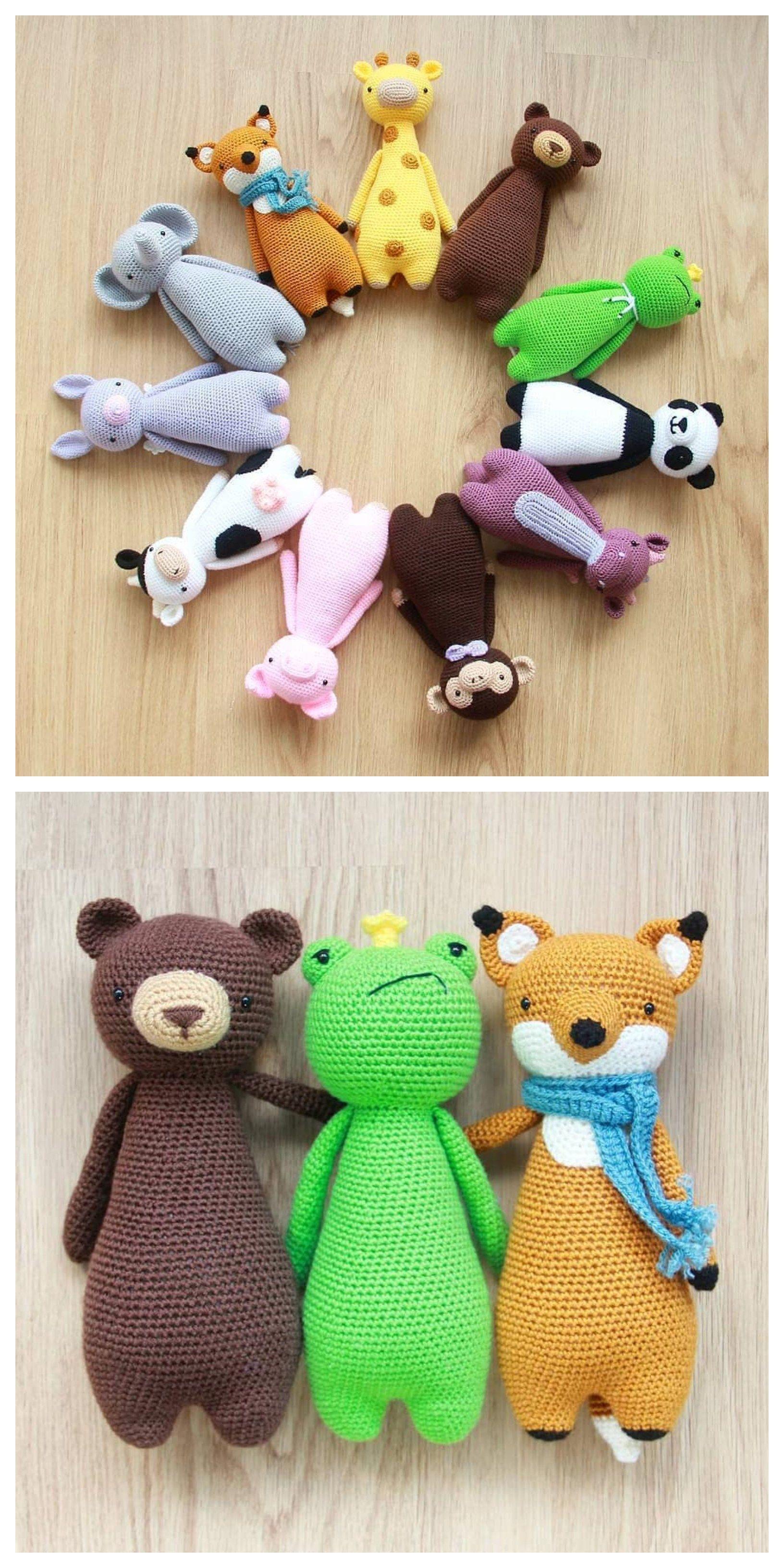 Crochet patterns by Little Bear Crochets #crochetbearpatterns