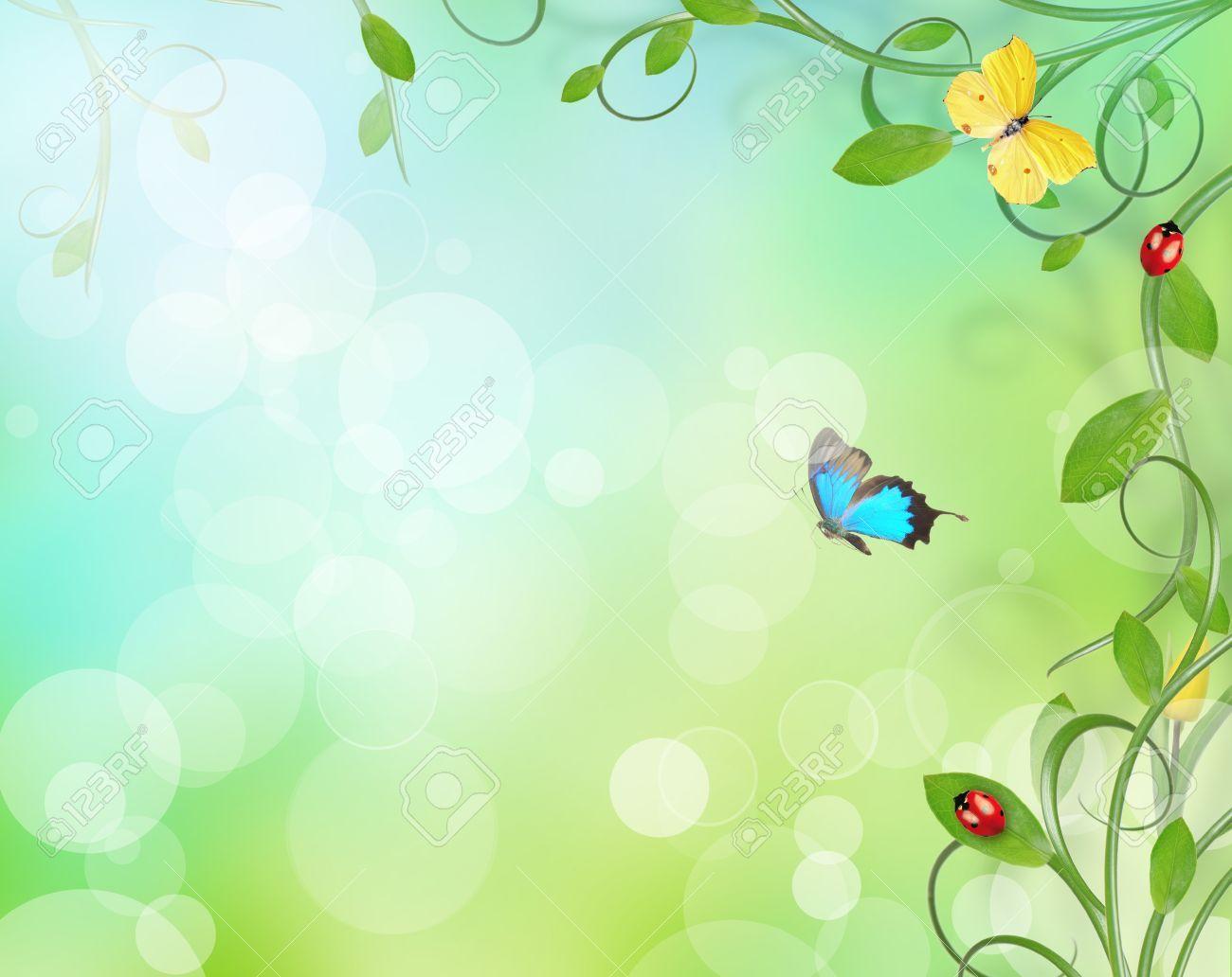 Image result for butterfly flower border | Everything Else ...