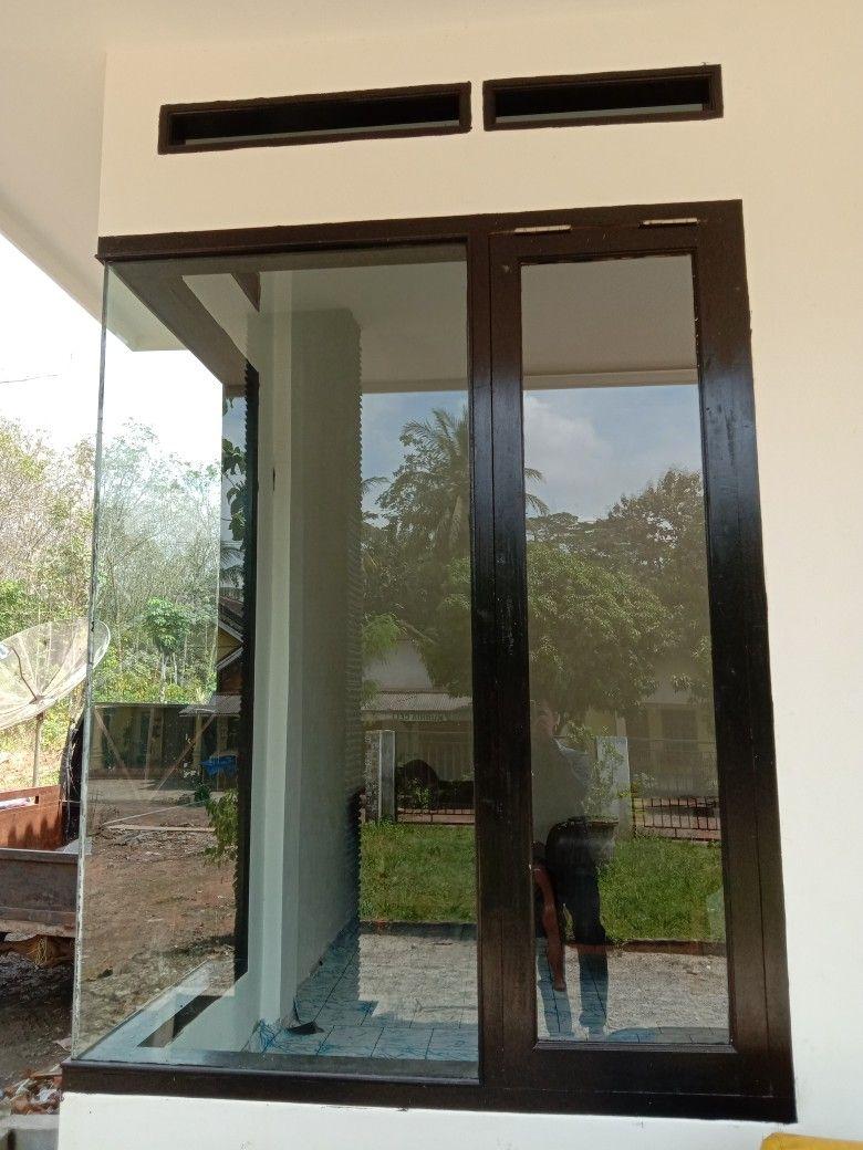 Jendela Kaca Minimalis Modern Patio Jendela Rumah Minimalis