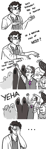 This is why Carlos is the scientist and the people of Night Vale are awesome