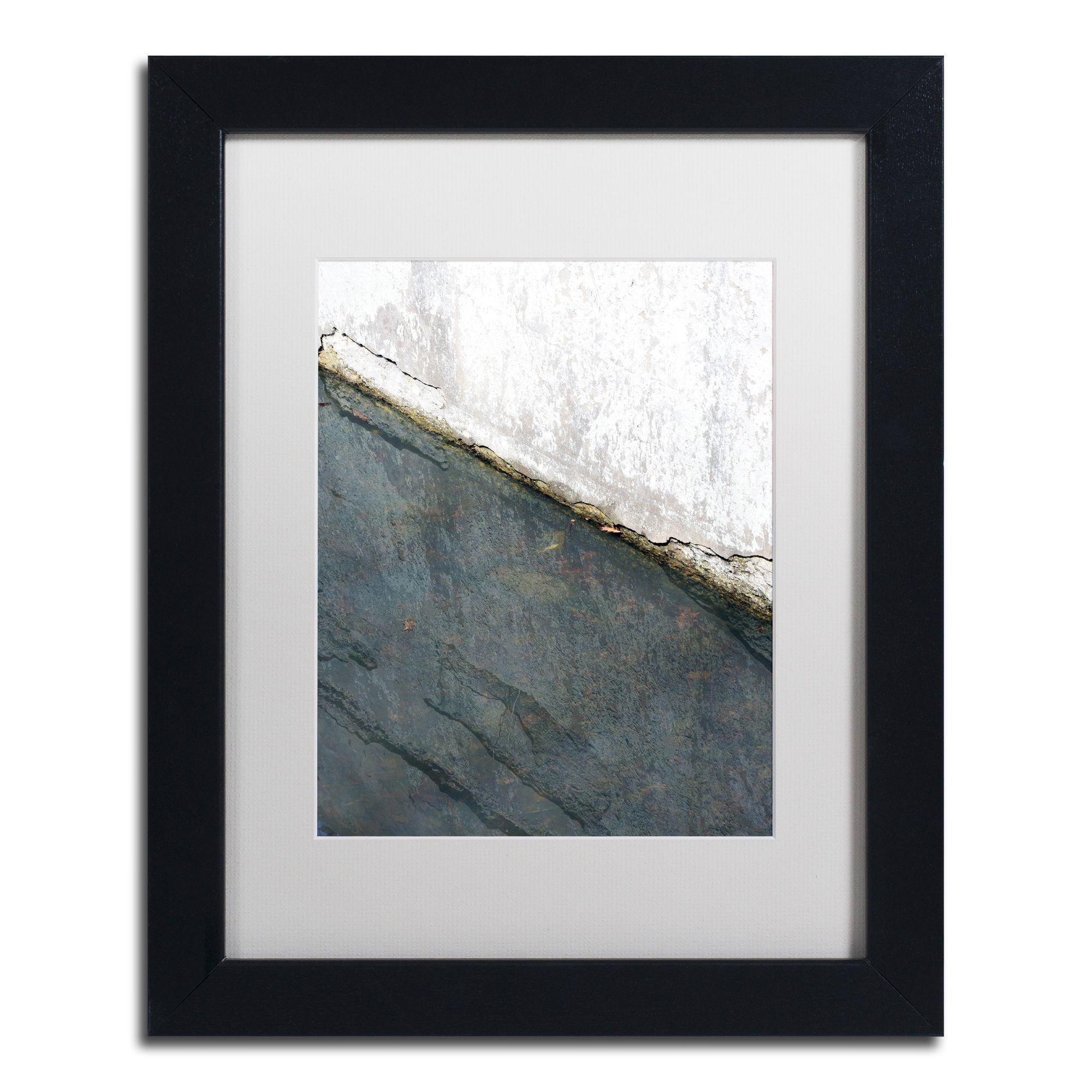 Kurt Shaffer 'Lock Abstract' Framed Matted Art