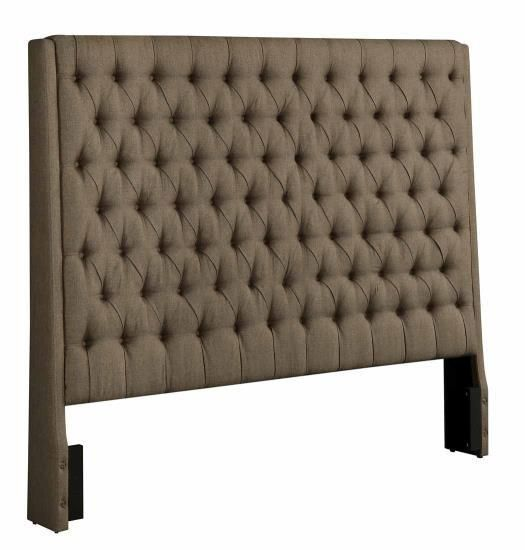 Best Coaster Camille Upholstered Headboard Las Vegas Furniture 400 x 300
