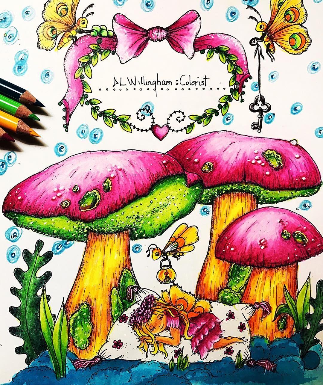 Intro Page Coloring Tenderfulenchantments Klaramarkovajewels