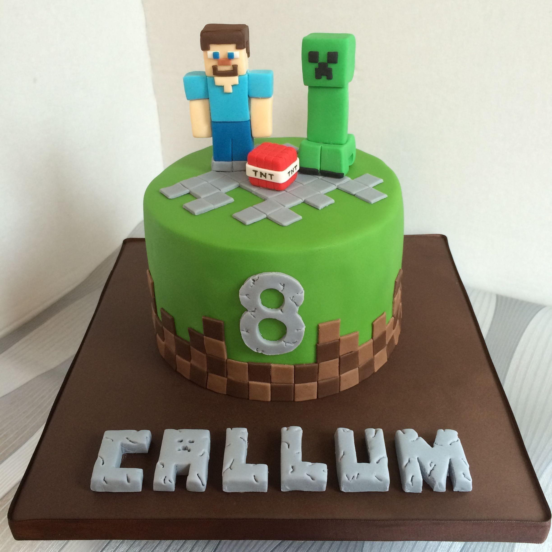 32 Exclusive Photo Of Minecraft Birthday Cakes Minecraft